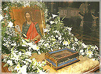 Десница св. Ионна Предтечи в Киево-Печерской Лавре