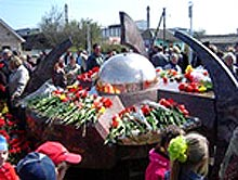 Гостомель : відкриття меморіалу Чорнобильської трагеді