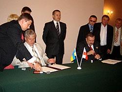 Гостомель : поїздка делегації до Республіки Польща