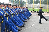 Лагерный сбор курсантов НУГНСУ в Ирпене