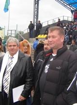 Перші футбольні матчі на Гостомельському стадіоні