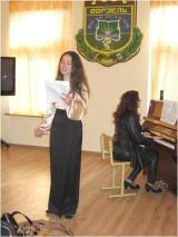 художній керівник ансамблю «Ангельорус» та ведуча концертної програми Тетяна Стефанишин, концертмейстер Лариса Сущинська